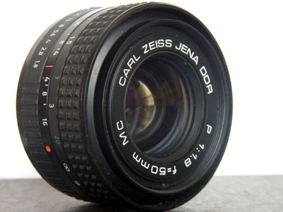Carl Zeiss Jena DDR P 1.8/50mm