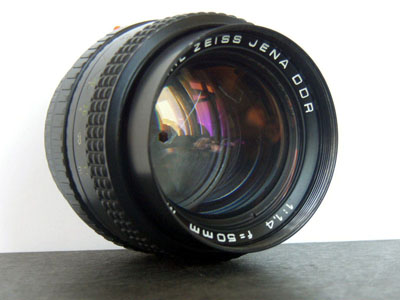 Carl Zeiss Jena DDR 1.4/50 mm