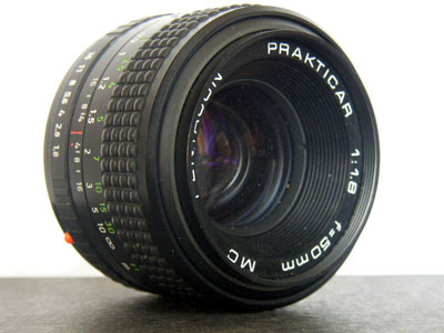 Prakticar 1.8/50 mm metall