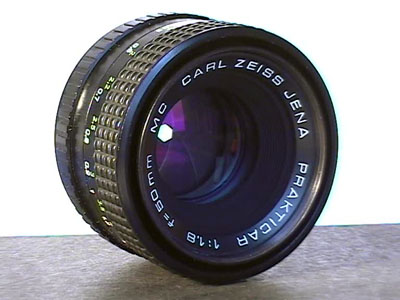 Carl Zeiss Jena Prakticar 1.8/50 mm MC